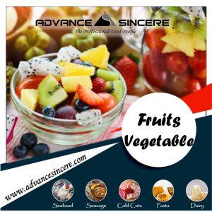 IQF Fruits, Berries & Vegetable