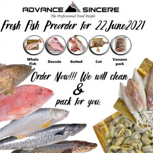A All Fresh Seafood Preorder